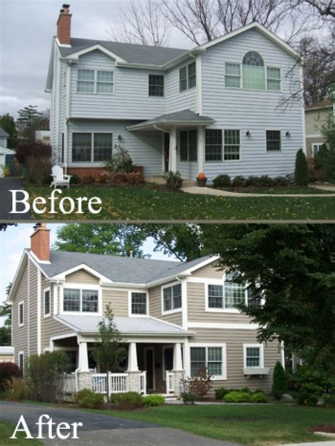 hinsdale residential exterior remodeling project modern