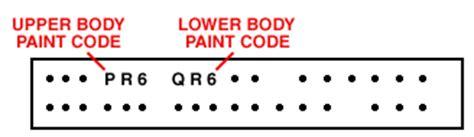 chrysler colour guide car code plastikote paint products