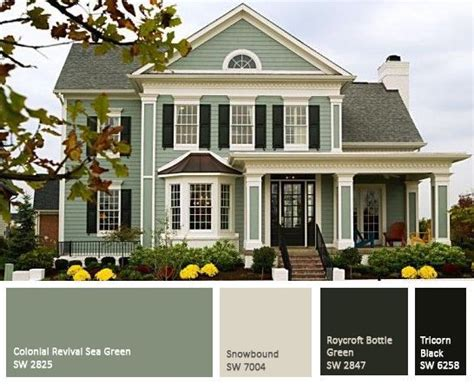 25 best ideas about green exterior paints on house colors exterior green green