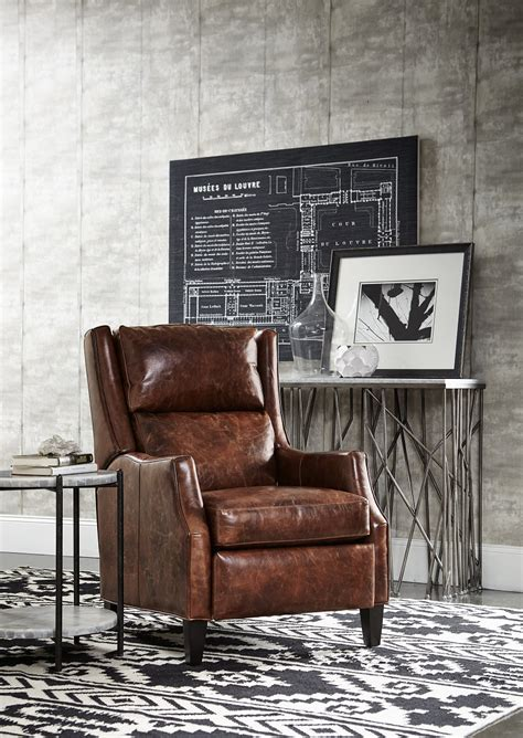 thomas recliner thomas recliner with articulating headrest by bradington