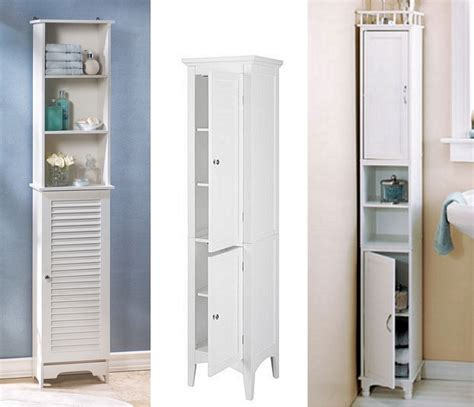 narrow bathroom floor cabinet gretchengerzina