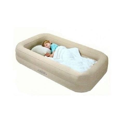 kids travel bed inflatable portable folding toddler air