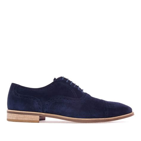 navy oxford shoes oxford shoes in navy split leather alonai 179 90