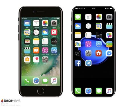 iphone 7 vs iphone 8 behold the edgeless iphone 8 you ve always dreamt of bgr