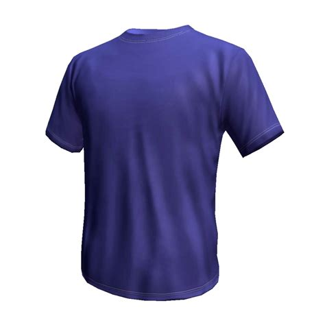 Tshirt 3d 01 blue t shirt 3d model