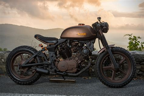 yamaha virago  scout  industrial moto hiconsumption