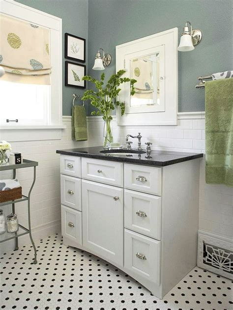 black vanities small bathrooms before and after bathroom renovations the floor