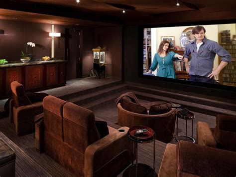 home theater design ta cedia 2012 home theater finalist casual luxury hgtv