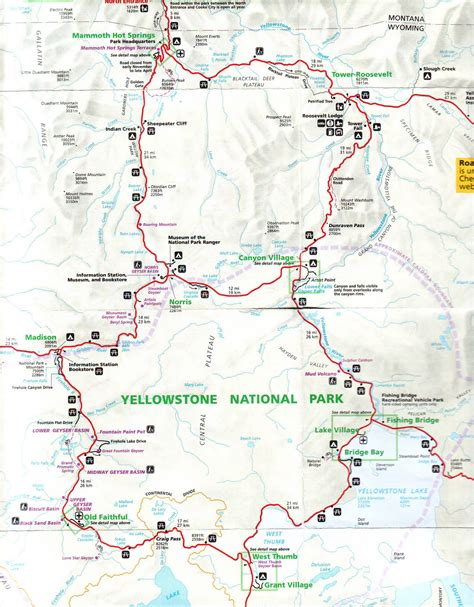 map of yellowstone national park lowther s 2010 2011 trip yellowstone national park 23 35
