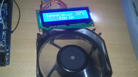 temperature controlled computer fan arduino fan control with temperature youtube