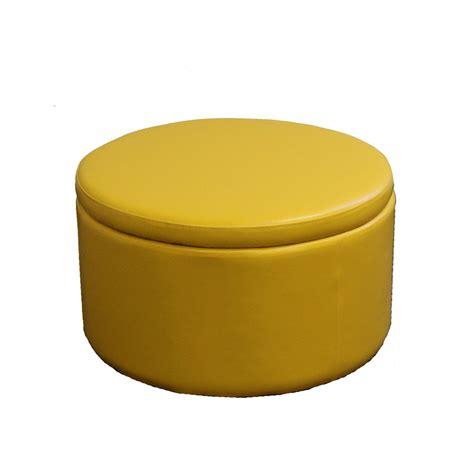 yellow storage ottoman elizahittman yellow storage ottoman yellow textured