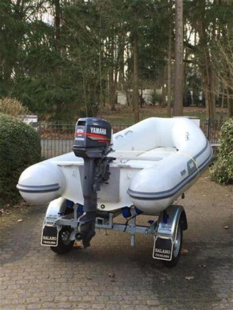 rubberboot met motor 25 pk rubberboot ab lamina 11 al en yamaha 25 pk op trailer