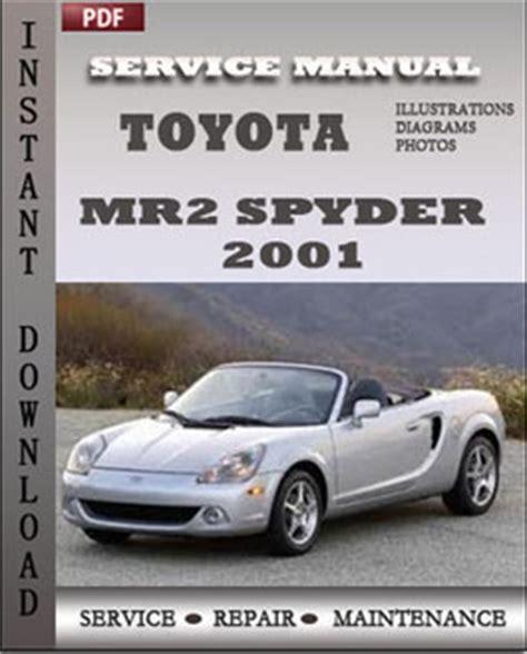 automotive repair manual 2001 toyota mr2 free book repair manuals 2001 toyota mr2 service and repair manual search