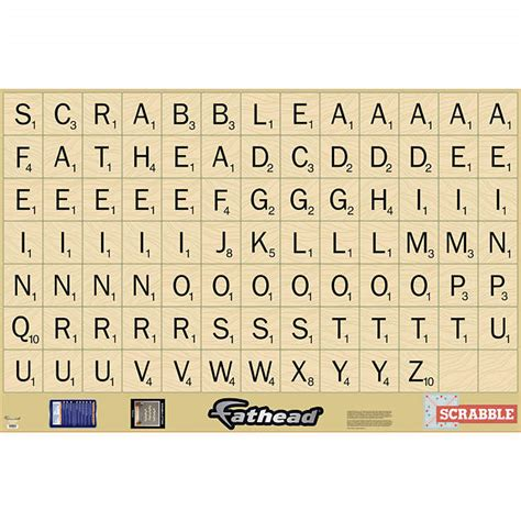 scrabble letter template scrabble letters collection wall decal shop fathead 174 for