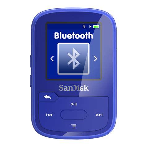 Protection Ecran Sandisk Clip Sport by Sandisk Clip Sport Plus Bleu Lecteur Mp3 Ipod Sandisk Sur Ldlc