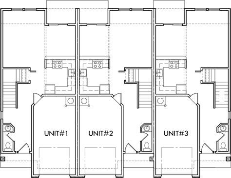 Multi Unit Floor Plans multi unit house plans