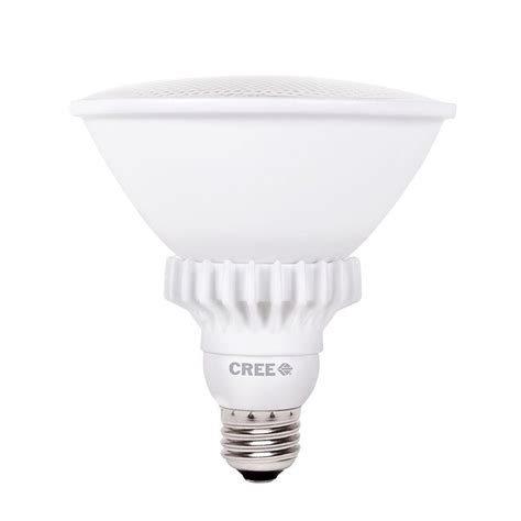 Cree Dimmable Led Light Bulbs Cree 90w Equivalent Bright White 3000k Par38 47 Degrees Flood Dimmable Led Light Bulb Bpar38