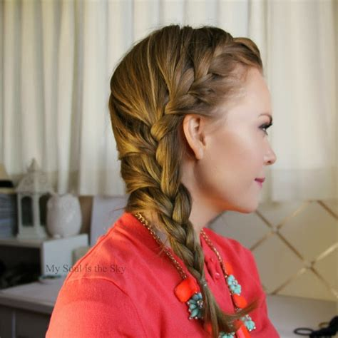 front braids hairstyles how to front braid short hairstyle 2013
