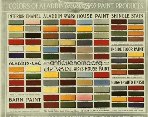 historic bungalow colors vintage palette 1910 to 1920 flickr