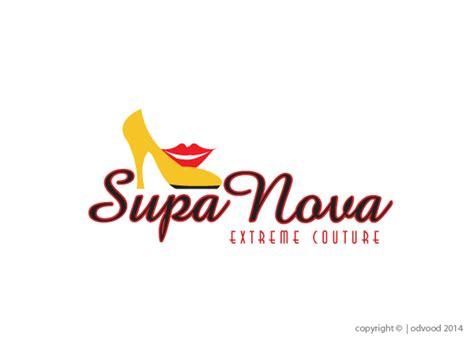 sneaker logo design logo design for supanovaextremeboutique by odvood design