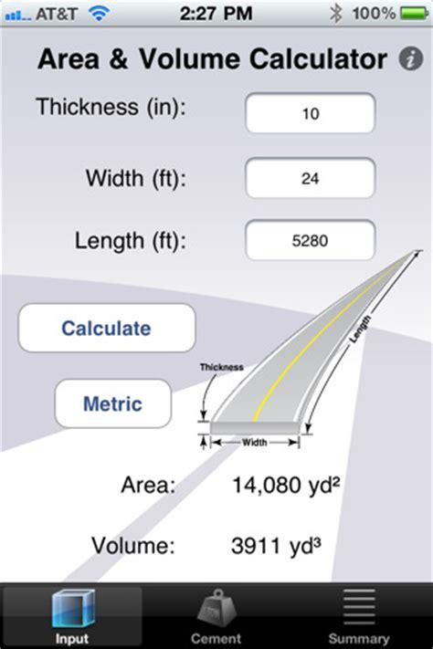 calculator volume area volume calculator 1 0 app for ipad iphone