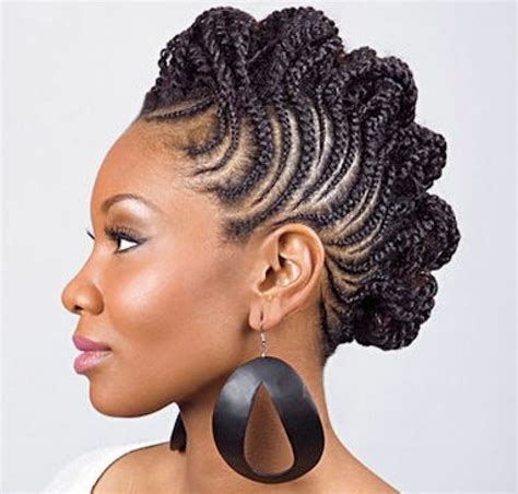 Black Braided Mohawk Hairstyles by Mohawk Braids 12 Braided Mohawk Hairstyles That Get Attention