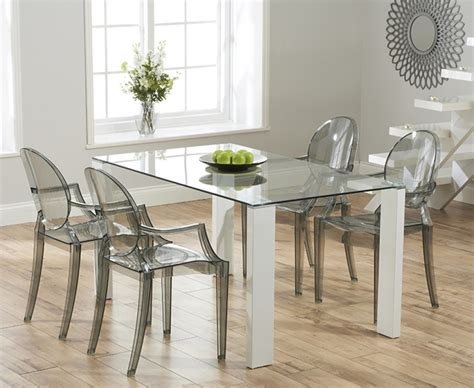 glass dining room furniture a perfect wow factor for tonelli bacco glass dining table klarity glass furniture