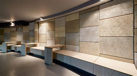Wood And Metal Wall Decor Wood Wool Acoustic Panels Cementitious Wood Fiber Panels
