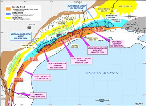 gulf coast of texas map printer friendly view civicrm