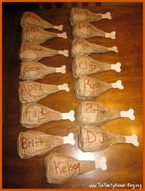 How To Make A Paper Bag Turkey - thanksgiving crafts check these place settings for