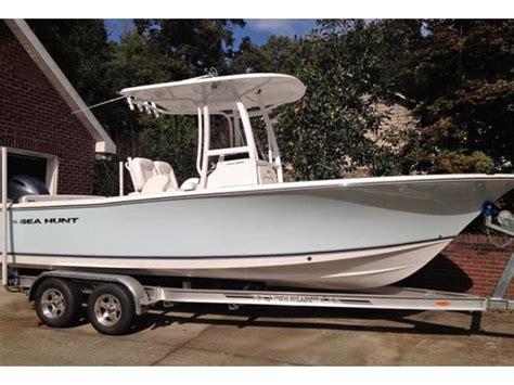 sea hunt boats north carolina 2014 sea hunt ultra 234 powerboat for sale in north carolina