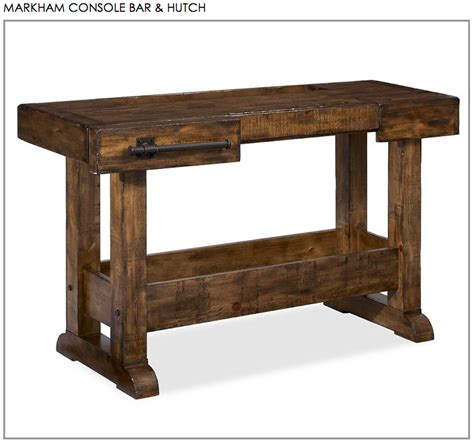 diy pottery barn console table