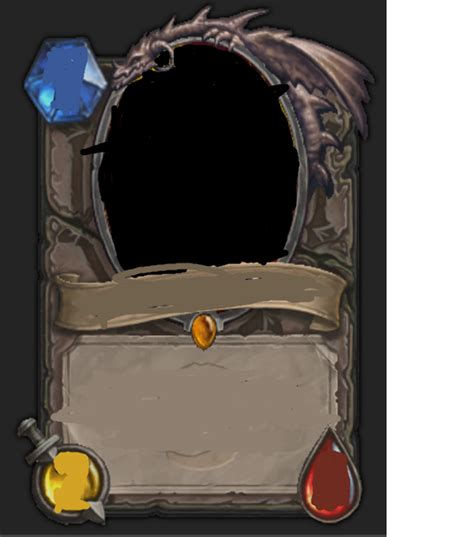 hearthstone blank card template gallery for gt blank hearthstone card