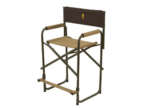 Aluminum Directors Chair by Browning Directors Chair Xt Aluminum Frame Seat