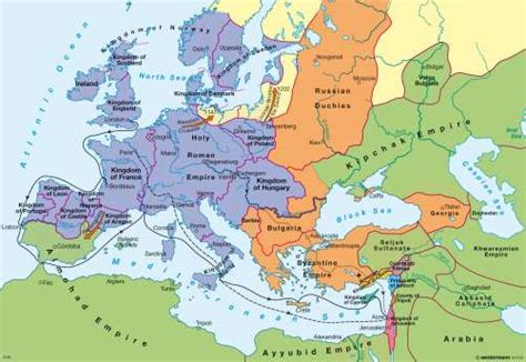 map world powers in 12 century maps europe during the crusades in the late 12th