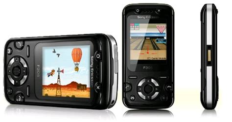 Flex Slide Sony Ericsson F305 F 305 sony ericsson f305 black band gsm unlock phone