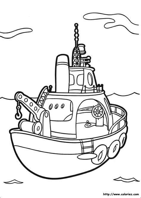 dessin bateau pompier dessin 195 colorier bateau zodiac