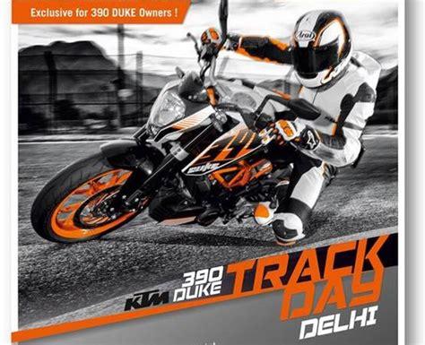 Ktm Racing India Ktm 390 Duke Track Day At Bic
