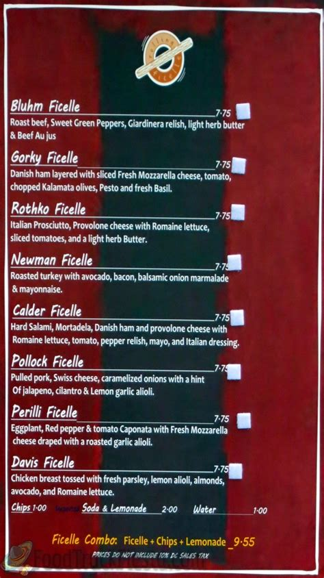 The Rolling Kitchen Food Truck Menu by What The Truck Rolling Ficelle Borderstan