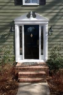 Front Door Pediment Pediment Style New Home Exterior