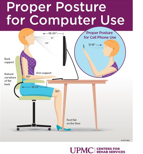 how to keep good posture at a desk how to improve posture while sitting upmc healthbeat