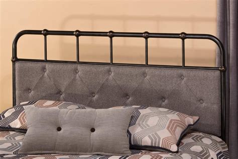Rubbed Bronze Headboard by Hillsdale Riviera Bed World Bronze 1795 Bed