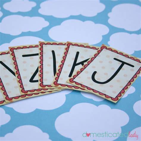 13 Sets Of Free Printable Alphabet Flash Cards Tip Junkie
