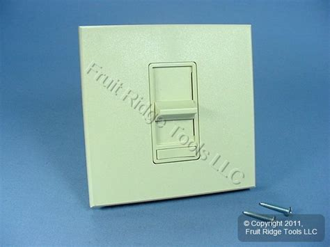 dimmer switch for fluorescent lights leviton fluorescent ivory light dimmer switch 1200w ebay