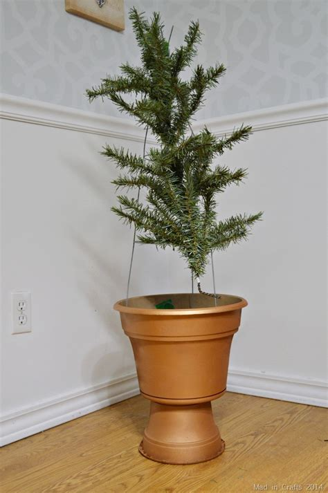 recycling artificial trees 11729 recycle an artificial tree into topiaries mad in crafts