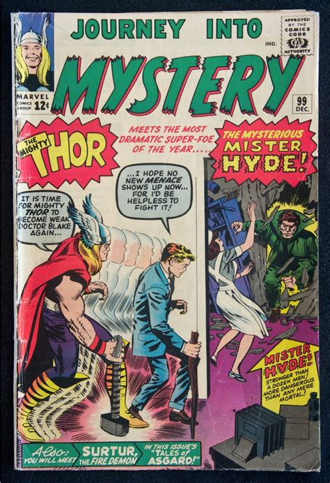 to teach the journey in comics journey into mystery the mighty thor 99 the mysterious