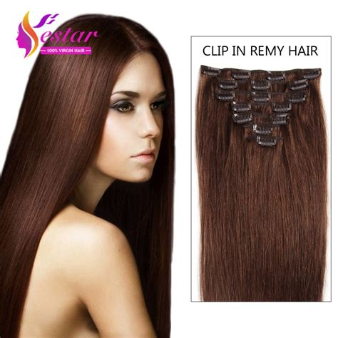 4 clip in hair extensions 4 remy clip in hair extensions 7 piecese set human hair