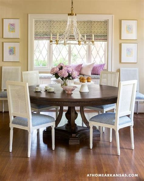 Traditional Pastel Dining Room Features French Dining | traditional pastel dining room features french dining