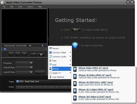 converter factory free apple video converter factory screenshot x 64 bit