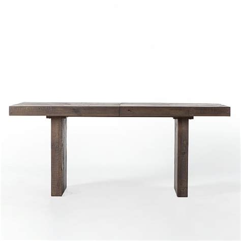 West Elm Reclaimed Wood Table by Emmerson 174 Reclaimed Wood Expandable Dining Table